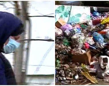 """Un oras intreg din Romania se afla sub alerta de cod rosu de gunoaie: """"Nu mai pot..."""
