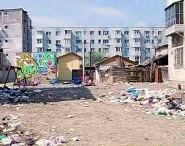 Locul de la marginea Bucurestiului, unde copiii traiesc laolalta cu sobolanii:...