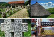 Muzeul de piatra de la Sangeru, cel mai mare de acest fel din Romania. Povestea locului e fascinanta