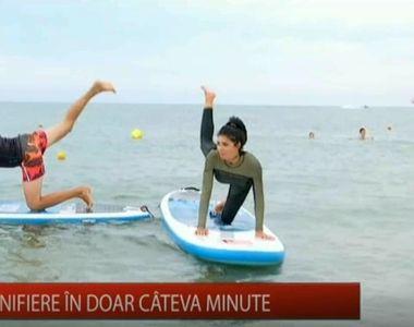 """Sportul pe apa arde mai multe calorii! Afla din rubrica """"Ce faci in weekend""""..."""