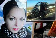 O tanara din Rosiorii de Vede s-a sinucis din cauza sotului drogat care o teroriza cu pistolul si o batea! S-a urcat in masina si a intrat cu viteza intr-un TIR - Ce mesaj i-a transmis mamei sale inainte