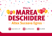Altex deschide pe 22 noiembrie un nou magazin în Suceava!