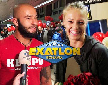 Faimosul Yamato Zaharia şi Războinica Ana Otvoş s-au întors în România! Primele imagini...
