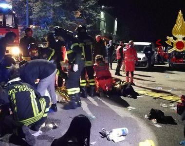 Incident cumplit într-un club din Italia! Sunt șase morți și sute de răniți după ce s-a...