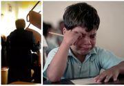VIDEO ȘOCANT! Elev din Ploiești, lovit în timpul orelor cu scaunul în cap chiar de către profesorul său!