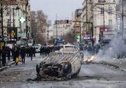Violențele din Paris continuă! Mii de protestatari au luat cu asalt, din nou, capitala Franței! Forțele de ordine au răspuns pe măsură