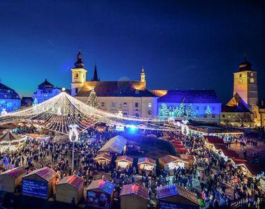 Târgurile de Crăciun din România, adevărate destinații turistice! Care sunt orașele...