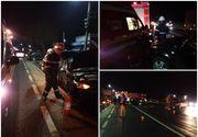 Pompier din Argeș, lovit de o mașină chiar când intervenea la un accident