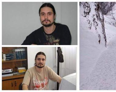 EL este tânărul care a murit în avalanşa din Bucegi. Încă un băiat a fost găsit mort de...