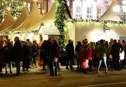 Incendiu puternic declanșat la Târgul de Crăciun din Piatra Neamț! Toti oamenii au intrat in panica!
