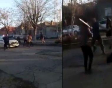 Scandal la Calafat: Un poliţist a fost lovit când încercat să aplaneze un conflict