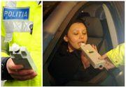 S-a îmbătat cu apă de gură! Asta a fost explicația unei femei în fața polițiștilor care au prins-o conducând în stare de ebrietate