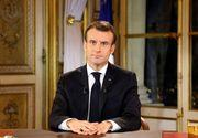 Macron a cedat! Ce măsuri va lua, ca urmare a protestelor violente din ultima perioadă