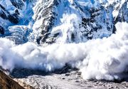 Pericol de avalanșă. ANM, noi avertizări meteo de vreme rea