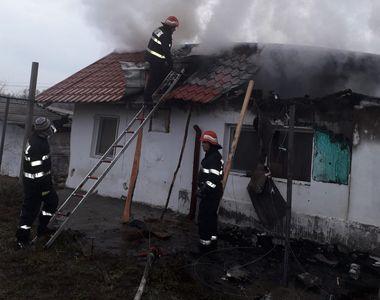 Incendiu uriaș la o mănăstire din județul Constanța! Pompierii au intervenit de urgență!
