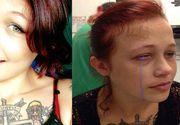 Horror! Risca sa ramana oarba dupa ce iubitul ei i-a facut un tatuaj