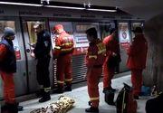 Imagine socanta cu tanara ucisa in statia Dristor! Era prinsa sub metrou si nimeni nu a putut sa o ajute