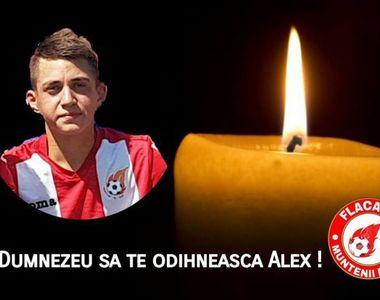 Alex Stefan, tanarul fotbalist mort in urma unui atac cerebral, si-a presimtit moartea:...