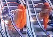 Imagini terifiante surprinse la Mall! O fetita de 10 luni a murit, in timp ce mama sa facea ASTA
