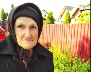 Cum traiesc batranii nostri! La 80 de ani, singura si bolnava, ea spune ca are...