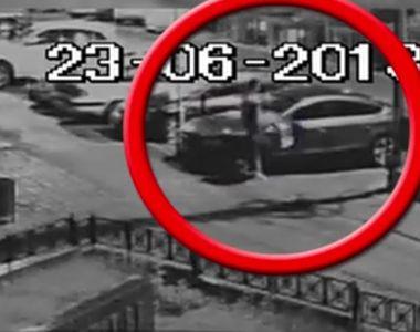 Cateva zeci de masini au fost vandalizate in Piatra Neamt. Incredibil ce facea barbatul...