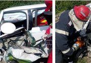 Accident teribil la Voivodeni! Un barbat de 40 de ani a murit incarcerat intre fiarele contorsionate