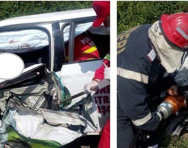 Accident teribil la Voivodeni! Un barbat de 40 de ani a murit incarcerat intre fiarele...