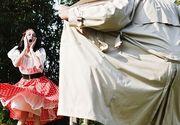 Un pedofil umbla cu pantalonii in vine in Centrul Vechi din Bistrita si ademeneste copiii sa vina la el