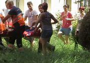 Video! O fetita de 12 ani din Gherla s-a aruncat de la etaj si le-a lasat parintilor un bilet de adio