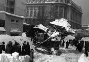 Imagini apocaliptice cu cea mai cumplita iarna din toate timpurile, in Romania