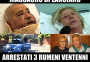 Cuplu de medici torturat de trei romani, in Italia. Femeii i-au taiat o ureche