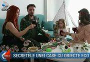 """Secretele unei case cu obiecte eco. """"Casă de vedetă"""" vă invită în oaza de linişte de lângă Bucureşti"""