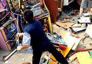 Nervos că a pierdut la păcănele, un bărbat din Neamț a devastat sala de jocuri! Cine este scandalagiul?