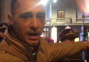 Vladimir Drăghia, bruscat şi cu hainele sfâşiate, în faţa Ateneului Român! Jandarmii l-au amendat