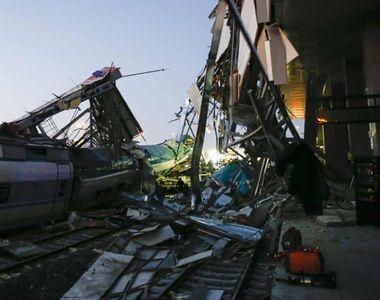 Nouă morți și 50 de răniți într-un accident feroviar produs în această dimineață! E...