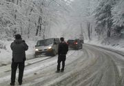 A nins ca în povești în stațiunile montane! Dacă unii s-au bucurat de zăpadă, pentru unii a fost un coșmar!