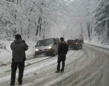 A nins ca în povești în stațiunile montane! Dacă unii s-au bucurat de zăpadă, pentru...