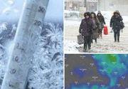 Alertă meteo! Vin ninsori abundente în cea mai mare parte a țării. Urgia albă se dezlănțuie