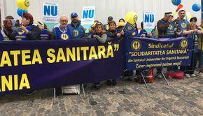 Sindicaliștii din sănătate amenință cu grevă dacă angajații nu vor beneficia de creșteri salariale din ianuarie