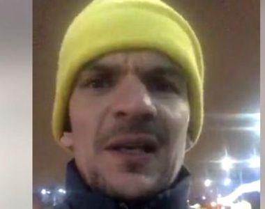 Tudor Chirilă a fost legitimat de un jandarm beat la protestul din Piața Victoriei