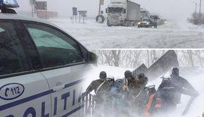 Zăpada a înghițit drumurile din România în ultimele 24 de ore! Avertizarea salvamontiștilor după avalanșa de la Bâlea Lac! Pericolul NU a trecut