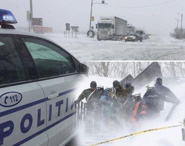 Zăpada a înghițit drumurile din România în ultimele 24 de ore! Avertizarea...