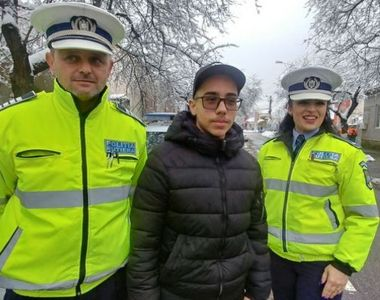 Un elev de 15 ani le-a scris polițiștilor ce își dorește de Crăciun. Reacția pe care au...