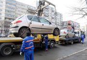 Primăria Capitalei vrea să ridice maşinile staţionate neregulamentar