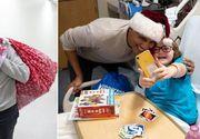 Fostul președinte al Americii a împărțit cadouri copiilor bolnavi dintr-un spital din Washington