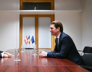 Cancelarul Austriei, vizită oficială în România. Sebastian Kurz are întâlniri cu Klaus...