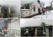Un bărbat și o femeie au ajuns la spital în stare gravă, cu arsuri pe 60% din suprafața corpului! Un incendiu a izbucnit în casa în care locuiau