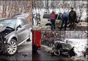 Accident devastator pe un drum din Maramureș!  Un mort și patru răniți până în acest moment
