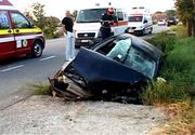 Prăpăd pe șosele! Accident cu 10 victime pe DN7