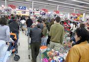 Este haos în magazinele din toată țara!  A început goana după ultimele cumpărături de sărbători